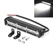 1x 8 inch 60W Spot LED Light Bar Fog Lamp Waterproof for Off road Car Truck ATV