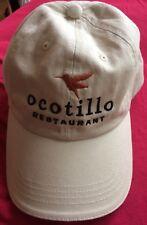 Ocotillo Restaurant Phoenix Az Beige Tan Hat Cap Baseball Golf Runner Adjustable