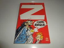 Z COMME ZORGLUB/ SPIROU/ POCHE/ BE