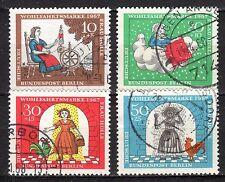 Germany / Berlin - 1967 Welfare / Fairytales - Mi. 310-13 VFU