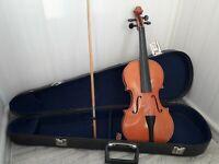 Soviet vintage violin in the original case. USSR Soviet Union Original