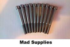 M8 X 80 A2 STAINLESS STEEL SOCKET CAP SCREWS,  ALLEN KEY BOLTS  PACK OF 10