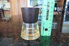 Burberry Touch For Women Eau De Parfum 1.7 FL OZ bottle wood top 1/5 full