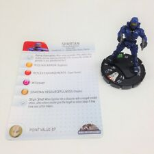 Heroclix Halo 10th Anniversary set Spartan (Plasma Rifle) #019 Uncommon w/card!