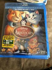 The Aristocats (Blu-ray/DVD, 2012, 2-Disc Set, Special Edition) BRAND NEW