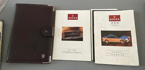 ROVER 200 CABRIOLET COUPE OWNERS MANUAL HANDBOOK & FOLDER PACK TOMCAT 1992-1998