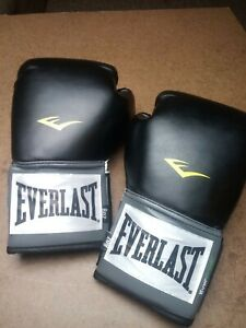 Everlast 8 Oz. EverFresh Black Boxing Gloves