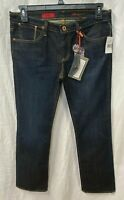 AG Adriano Goldschmied Women's The Kiss Dark Wash Boot Cut Jeans Size 31R