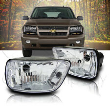 2002-2009 Trail Blazer / 2003-2008 Ascender Replacement Fog Light Set - Clear