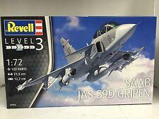 +++ Revell Saab JAS-39D Gripen TwinSeater 1:72 03956