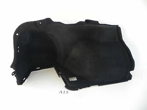 2008 LEXUS IS F REAR TRUNK CARGO LEFT DRIVER SIDE COVER PANEL BLACK 624 #A15 A