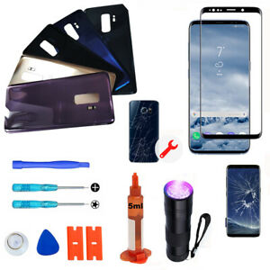 For Samsung Galaxy S9+ & S9 OEM Front Screen Glass Back Replacement Cover Kit