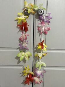 Hawaiian Lei Garland Hula Necklace Fancy Dress Pool Party Dress Up