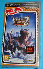 Monster Hunter Freedom 2 - Sony PSP - PAL New Nuovo Sealed