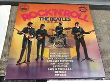 The Beatles & John lennon   sounds supers-import 3lp box Rock n Roll  Lp vinyl