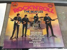 The Beatles & John lennon   sounds supers-import 3lp box Rock n Roll  Lp vinyl