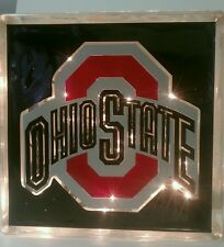 Lighted Ohio State Buckeyes Glass Block Light~ Home Decor~Gift~Lamp