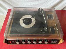 Stereorama 2000 De Luxe Anni 70 Disc Tape Stereo