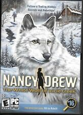 "Nancy Drew ""The White Wolf of Icicle Creek"" Windows PC/CD-ROM Game Mystery #16"