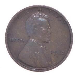 Semi Key 1922-D VF/XF Lincoln Wheat Cent - Sharp *616