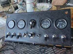 Jaguar (right hand drive) Center Dash Assemby mk2 (xke e-type) all tested good
