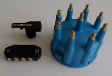 BLUE Ready-To-Run/Small HEI Replacement Distributor Cap, Rotor & module TSP 88.5