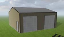 Steel Building 30x30 Simpson Metal Building Kit Garage Workshop Barn Structure