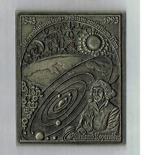 GUßEISERNE PLAKETTE: NIKOLAUS KOPERNIKUS 1543-1993
