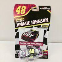 2020 NASCAR AUTHENTICS Wave 4 Jimmie Johnson Ally Chevy Camaro 1/64 Diecast
