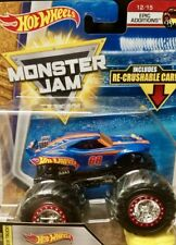 2018 Hot Wheels Monster Jam NEW TRUCK Hot Wheels R case Epic Additions
