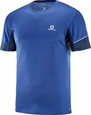 Salomon Homme T-shirt de Sport À manches courtes Agile SS Tee Jersey Double...