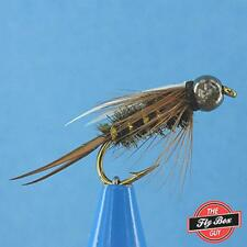 Tungsten Bead  Hot Wire Prince Nymph Green//Yellow #18