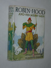 Robin Hood and His Merry Men E Chalres Vivian Illustrated Harry G Theaker c 1950