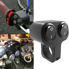 """7/8"""" Motorcycle Handlebar Headlight Fog Light Dual Button On/Off Switch New(Fits: Ducati GT)"""