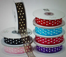 Single-Sided 1-5 Organza Craft Ribbon