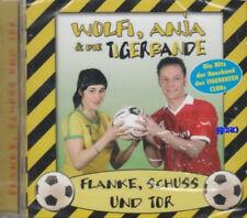 TIGERENTEN CLUB + CD + Kinderlieder + Fußball + Flanke, Schuss und Tor + 17 Hits