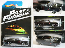 VERY RARE 2012 HOT WHEELS FAST & FURIOUS 70 DODGE CHARGER R/T 1/8 NEW MOSC !