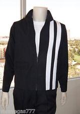 (S or M) ELVIS (BLACK) Speedway Jacket (Tribute Artist Costume) Pre Jumpsuit Era