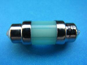 Hybec  Festoon Type LED 2 chips 12V DC Blue T10x31mm