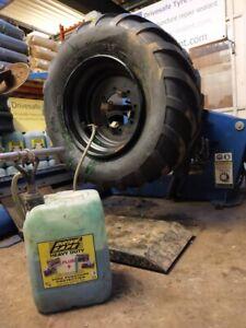 500/60x22.5 Starco 9T dumper wheel & tyre assembly