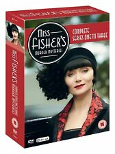 Miss Fisher's Murder Mysteries Series 1 - 3 (1 to 3) NEW 10 DVD Essie Davis