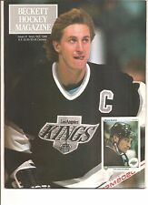 1990 BECKETT HOCKEY MAGAZINE ISSUE #1 FIRST ISSUE WAYNE GRETZKY COVER