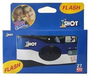 1Shot Fun Shooter Single Use Camera with Flash