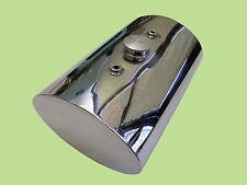 STAINLESS STEEL Custom Oval Oil Tank for Harley Chopper Bobber