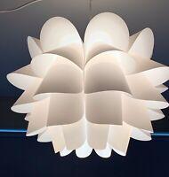 Ikea KNAPPA Pendant mood Lamp Lotus-Shape White