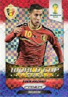 2014 Panini Prizm World Cup Brasil - Brazil '14 World Cup Stars Plaid Parallel