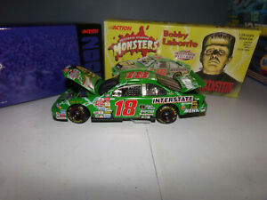 1/24 BOBBY LABONTE #18 INTERSTATE BATTERIES / FRANKENSTEIN 2000 ACTION NASCAR