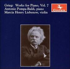 Grieg: Works for Piano, Vol. 7, New Music
