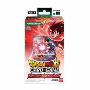 DRAGON BALL SUPER CARD GAME - STARTER SET SD09 - SAIYAN LEGACY - BNIB