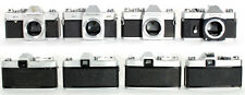 MAMIYA 500 TL DTL AND MSX 1000 4 BODIES FOR PARTS